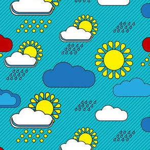 Bauhaus sun and rain