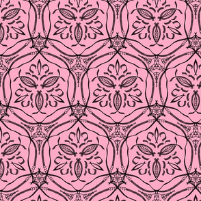 countylook rosa kalligraphie