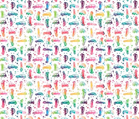 Rainbow Ca fabric by emeryallardsmith on Spoonflower - custom fabric