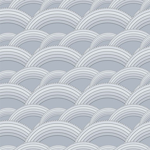 Waves gray