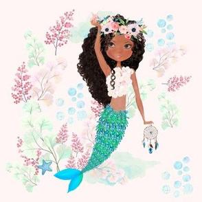 "8"" Chloe the Mermaid Stand PINK"