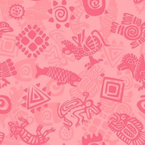 Polynesian Symbols in Mod Coral