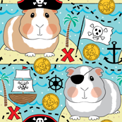 pirate guinea pigs