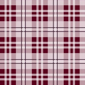 Holiday Plaid_Bordeaux