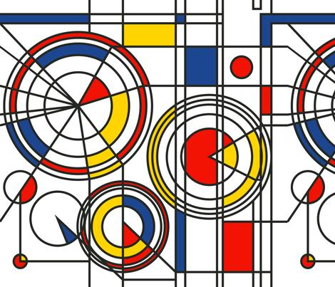 Bauhaus original fabric by zazulla on Spoonflower - custom fabric
