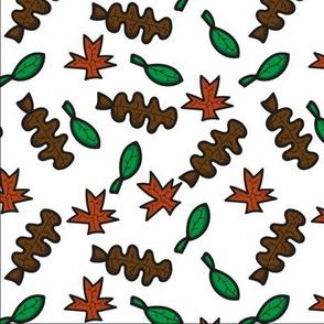 Leaves Hojas