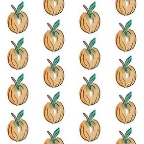 Watercolor Peach