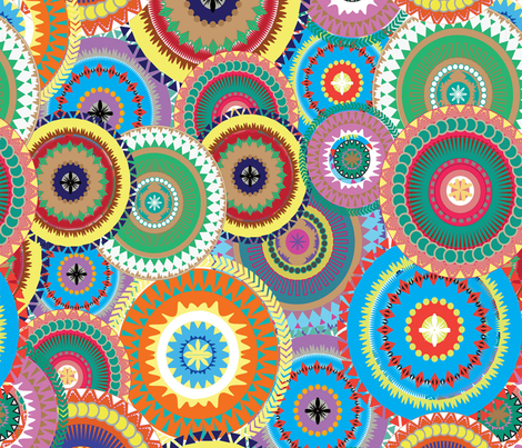 cercular fabric by tella_creations on Spoonflower - custom fabric