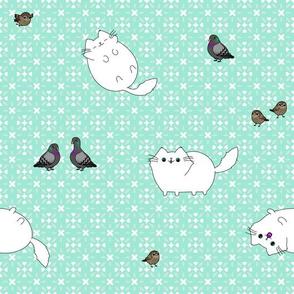 Sh!t Cat Amongst the Pigeons