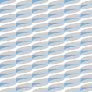 modern geometric diagonals in sky