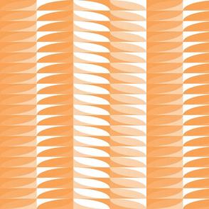 modern geometric stripes in peach