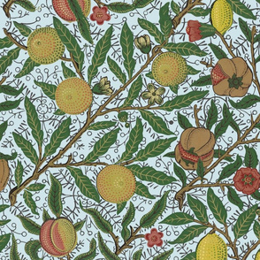 Fruit ~ William Morris ~ Bright