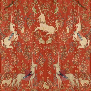 Medieval Unicorn Tapestry