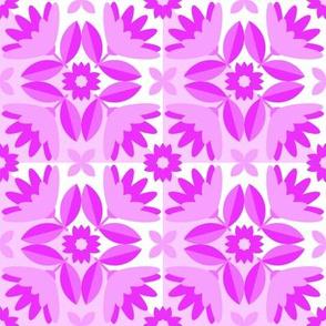 Tiles for Sparrows Magenta