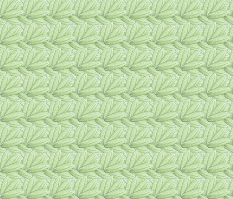 Clematis buds fabric by ruthjohanna on Spoonflower - custom fabric