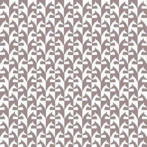 sighhound mosaik, beige, white