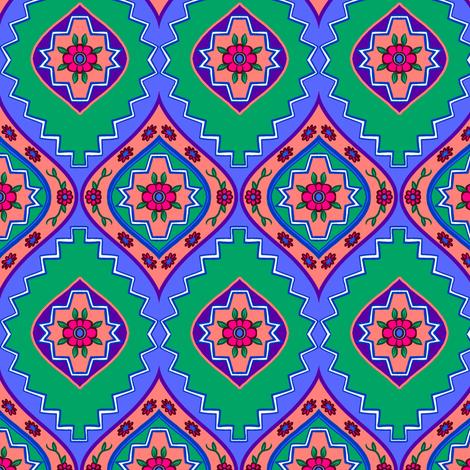 Floral Steps 1 fabric by jadegordon on Spoonflower - custom fabric