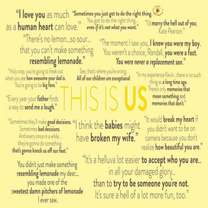 This Is Us Pattern