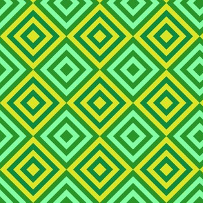 Geometric Diamonds Pattern