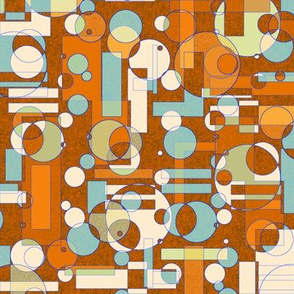 earth tone geometrics