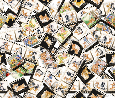 Corgi Puppies fabric Izmaylova dogs Litter