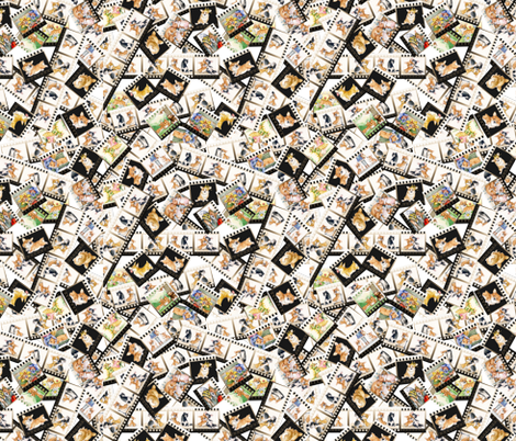 Corgi Puppies fabric Izmaylova dogs Litter fabric by masha_by_masha on Spoonflower - custom fabric