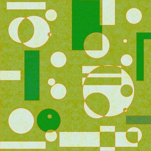 light muddy  green geometrics