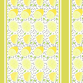 lemon poppy twist 14 VERTICAL-  yellow stripes