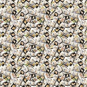 Corgi Puppies fabric Izmaylova dogs Litter