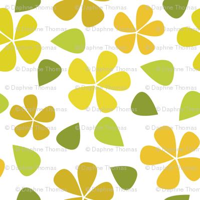 Pretty Yellow Floral
