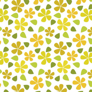 Pretty Yellow Floral