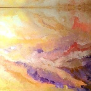 Firmament II Triptych 20 x 14
