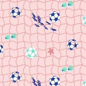 Underwater Soccer/Football Net
