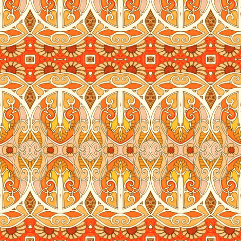 The Daisy Marmalade Continuum fabric by edsel2084 on Spoonflower - custom fabric
