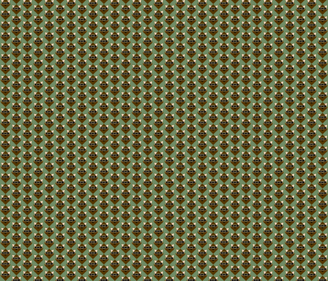 Raccoon in the Woods-small fabric by kae50 on Spoonflower - custom fabric