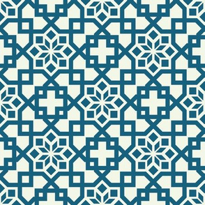 Geometric Linear Arabic Pattern