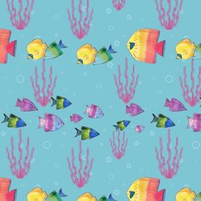 Fishy-stripe-pattern