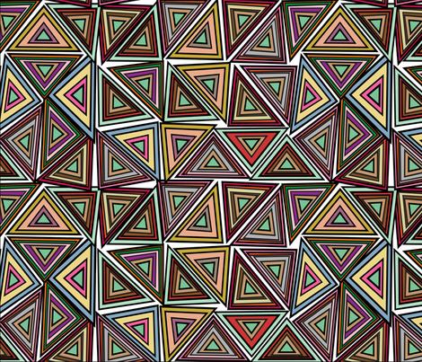 triangular fabric by tella_creations on Spoonflower - custom fabric