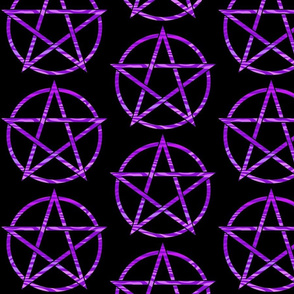 Purple Zebra Pentagram