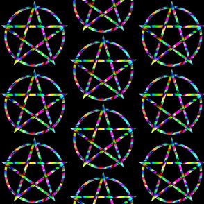 Colorful Pentagram