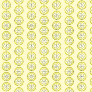 Star Medallion 2- Yellow Colorway