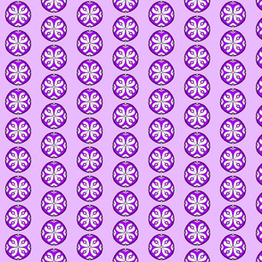 Star Medallion 2- Purple Colorway