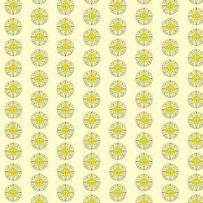 Star Medallion 1- Yellow Colorway