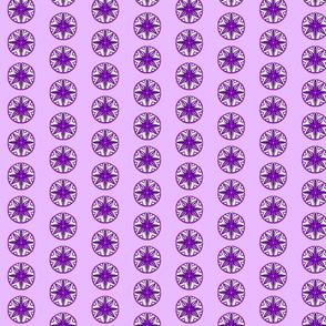Star Medallion 1- Purple Colorway