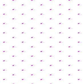 violet yarn on white