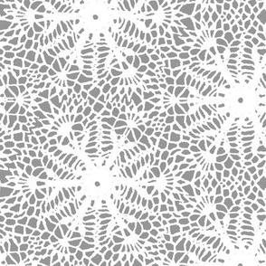 crocus snowflake gray white