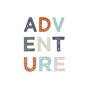 """6"""" Adventure - Quilt block"""