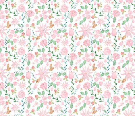 best pink 1000 fabric by margiecampbellsamuels on Spoonflower - custom fabric