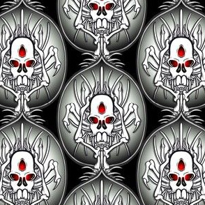 Spidery Skull