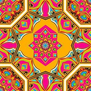 Colorful Geometric Fancy